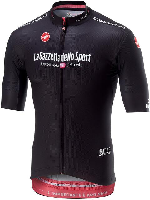 Castelli Giro Squadra Kortärmad cykeltröja Herr svart